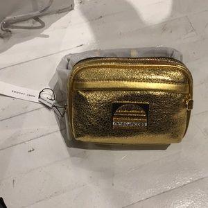 Marc Jacobs Metallic Leather Belt Bag / Fanny Pack